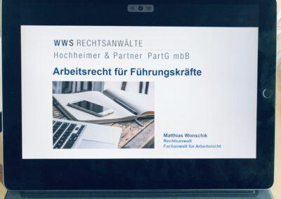 Workshop Arbeitsrecht