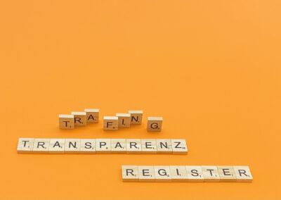 Mitteilungsfiktion Transparenzregister