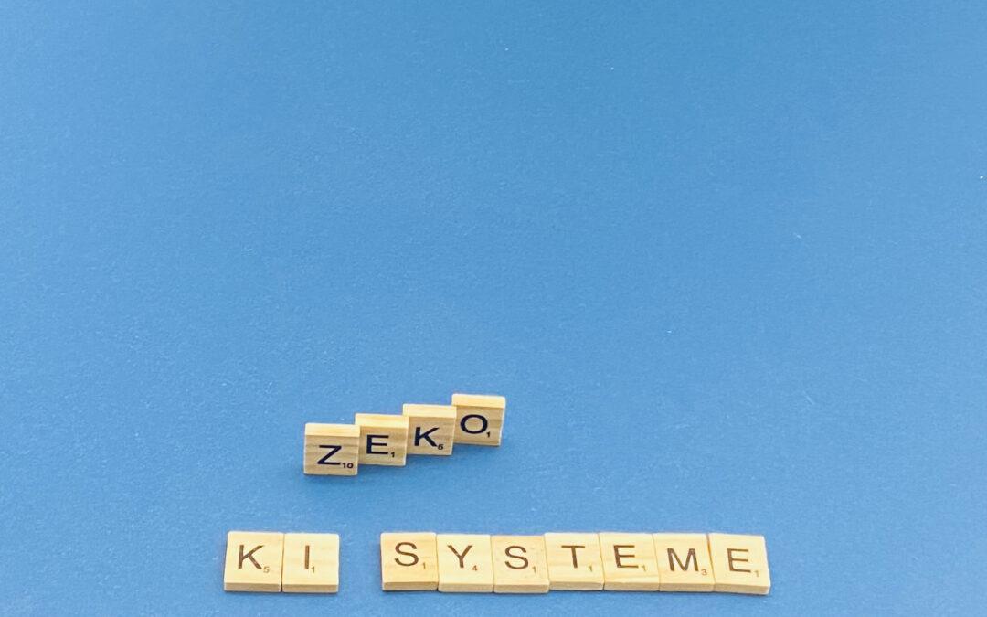ZEKO-Empfehlung zu KI